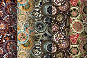 5 Colorful African Patterns