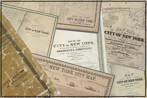 Antique New York City Maps