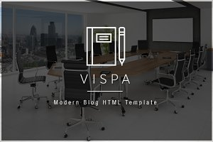 Vispa - Modern Blog HTML Template