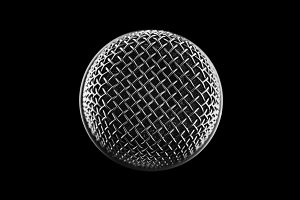 microphone top view