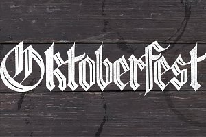 Lettering Oktoberfest