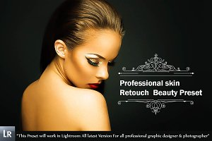Professional skin Retouch Preset