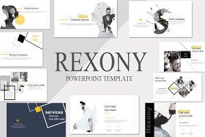 Rexony Creative Powerpoint Template