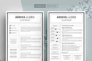Simple Resume Template Loris