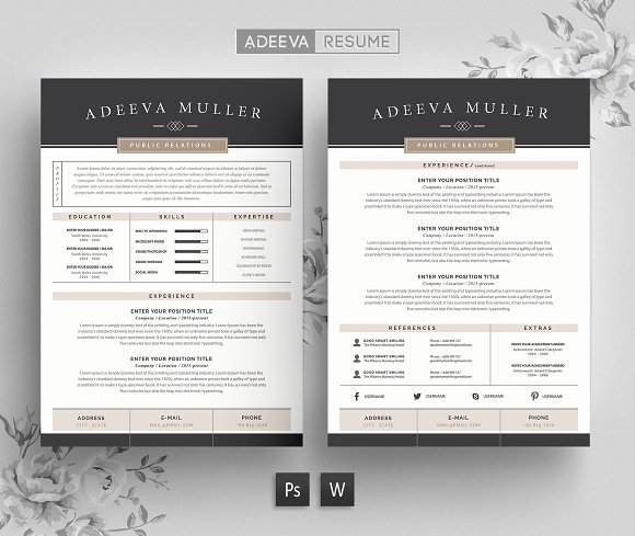 Resume Templates On Creative