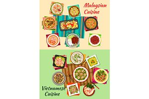 Vietnamese and malaysian cuisine