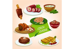 Czech cuisine dishes