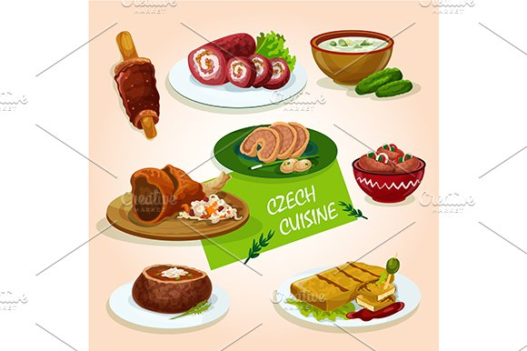 Czech cuisine dishes
