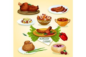 Hungarian cuisine signature dishes