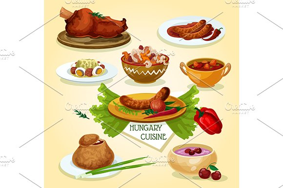 Hungarian cuisine signature dishes