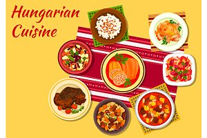 Hungarian cuisine dishes