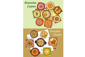 Georgian and armenian cuisine