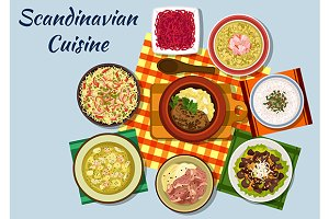 Scandinavian national cuisine