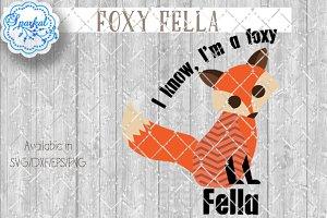 Foxy Fella Cutting File SVG