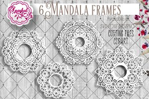 Mandala Cutting File SVG