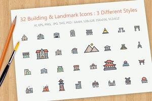 Building & Landmark Icon
