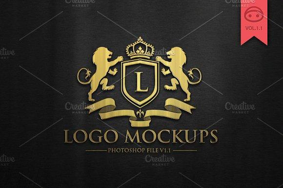 Free Logo Mock-Up V1