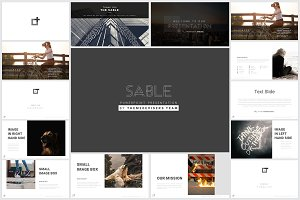 Sable Powerpoint Template