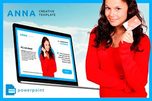 ANNA - creative powerpoint template