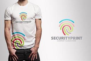 Security Print Logo
