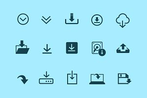 15 Download Icons