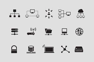 15 Network & Internet Icons