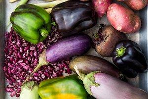 Organic Homegrown Vegetables
