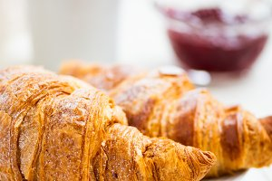 Fresh Croissants for the Breakfast