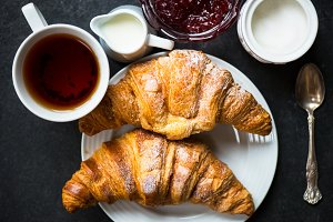 Fresh Croissants for the Breakfast