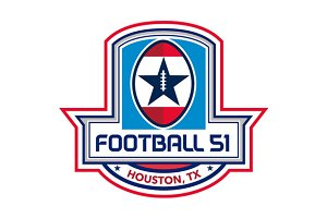 Houston American Football 51 Stars