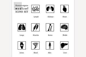Organs Icons