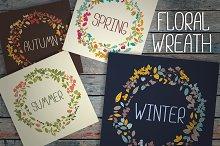 Floral wreath (seasons)