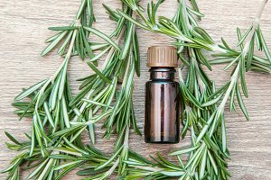 Essential rosemary oil