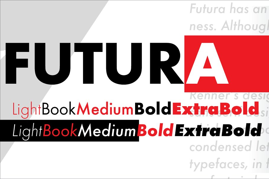 Futura Medium ~ Sans Serif Fonts ~ Creative Market