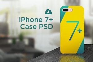 iPhone 7 plus case PSD