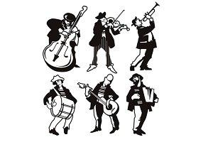 Playing Мusicians