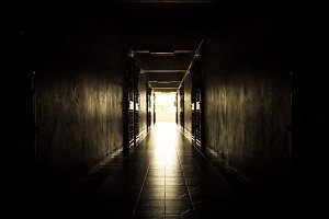 Corridor in the building