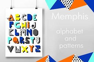 Memphis Alphabet.