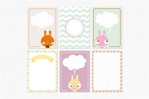 Journal Cards-Bunny Day