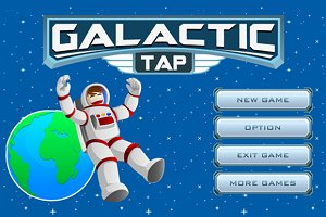 Galactic Tap Game Assets