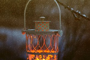 Christmas decorative lantern