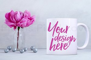 Styled Stock Mug Image mock up