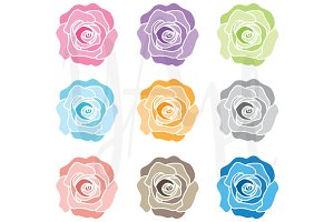Wedding Flower Clip Art