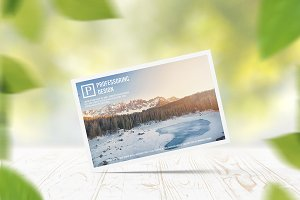 10x15 Postcard / Invitation Mock-up