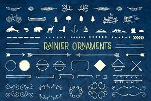 Rainier Font Ornaments