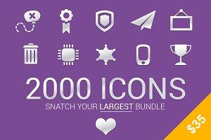 Snatch Largest Bundle-2000 Icons