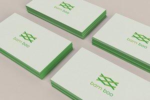 bam boo logo template
