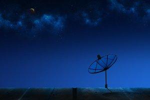 Small Satellite Dish
