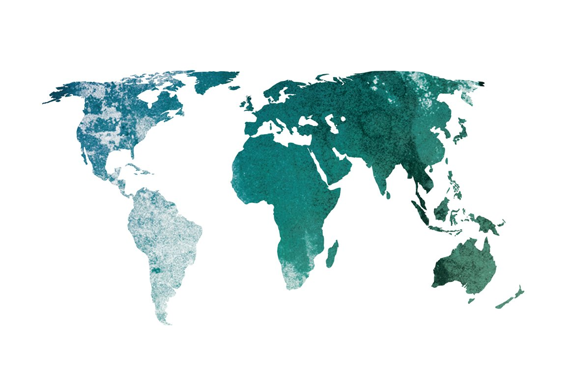 Textured world map illustrations creative market gumiabroncs Gallery