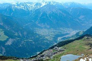 Bettmeralp village (Switzerland)